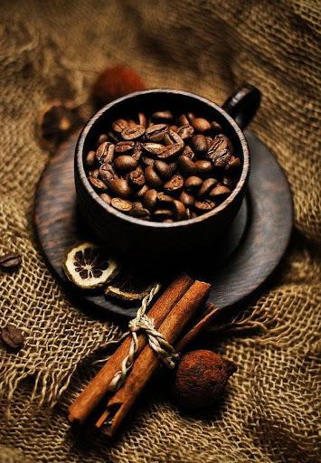 از قهوه