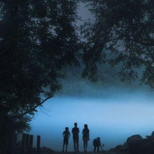 نور ساعت آبی