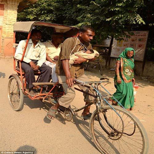 نقد عکس سه چرخه هندی