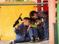 عکس خشونت بازی کامپیوتری بچه ها