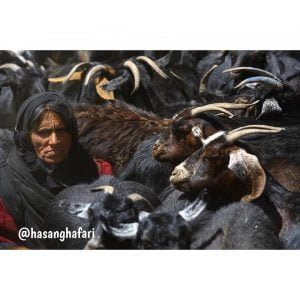 عکس زن عشایر