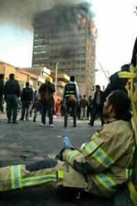 عکس آتش نشان