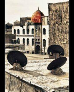عکس دیش ومسجد