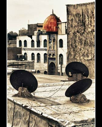 عکس دیش و مسجد