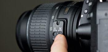 فوکوس دستی دوربین عکاسی